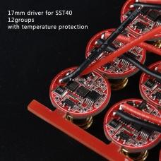 Драйвер (плата) для диода SST40 5A (12 режимов) (17мм)