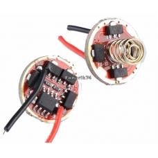Драйвер (плата) для диода XM-L(L2) 2.8A (12 режимов) (17мм)