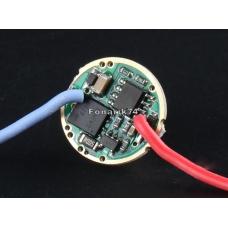 Драйвер (плата) для диода SST40 6A (3 режима +) (17мм)
