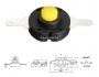 Кнопка для фонаря 14x13мм