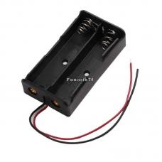 Кассета для 2-х аккумуляторов 18650