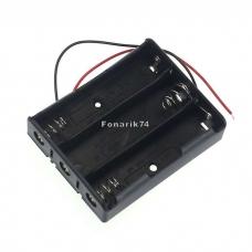 Кассета для 3-х аккумуляторов 18650