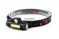 Фонарь налобный T80 CREE XP-E + COB (USB)