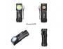 Фонарь налобный  TrustFire MC12 Magnet USB + 16340 (XP-L HI)