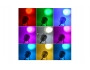 Фара светодиодная 1 LED 10w 12v + линза (белый свет)