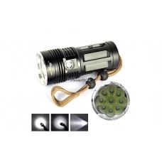 Фонарь светодиодный Securitylng 9000 (9 диодов XM-L T6)
