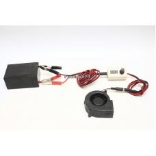 Блок для регулировки оборотов вентилятора с дисплеем